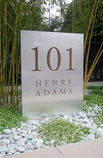 Photograph of Henry Adams Street Sign